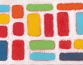Original Abstract Art  - 7 x 5 - Enter