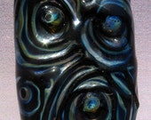 Dark Portals- Lampwork Glass Focal Bead