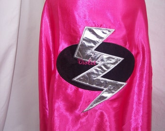 girls cape w/mask personalized