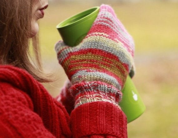 Knitting Pattern For Basic Mittens : Items similar to Better Basic Mittens - knitting pattern on Etsy