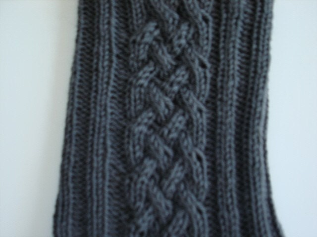 Knit Celtic Knot Hat Pattern : Knit Pattern Celtic Cable socks