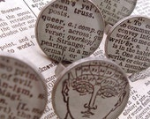 Custom Choose Your Word Dictionary Cocktail Ring