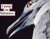 Philistines - bird MAGNET