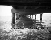 Under the Colonial Beach Pier