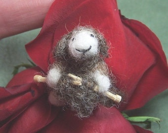 Little knitting Sheep