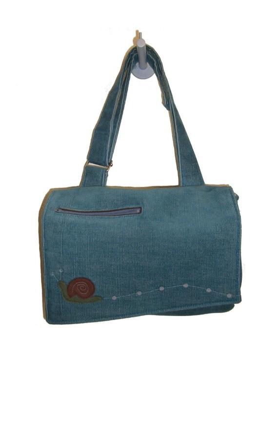 Happy Snail Trails Shoulder Bag