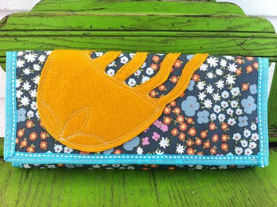 Jellyfish Garden Party No.1 Clutch Wallet