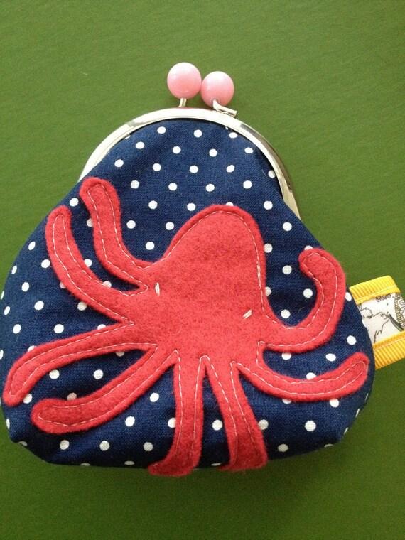Sailor Dot Octopus No.1 Coin Purse