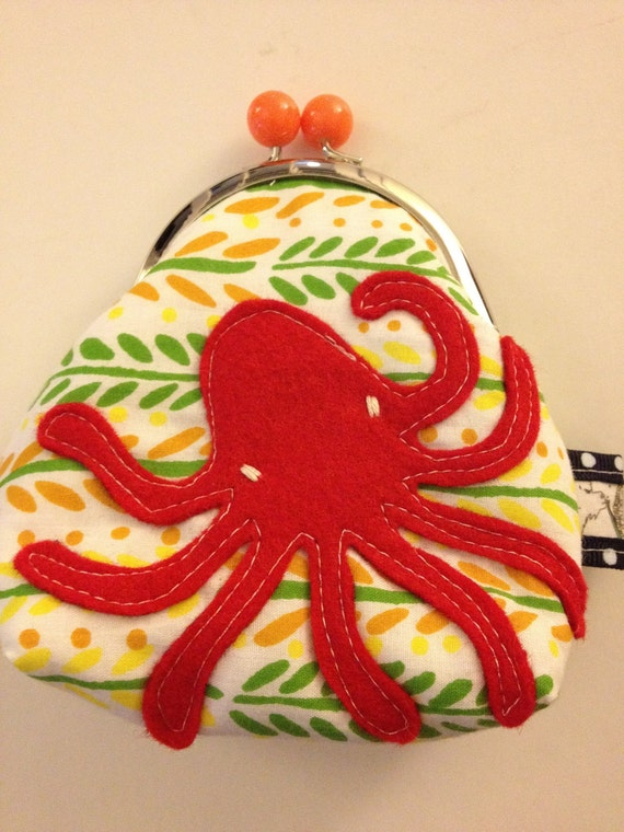 Rad Citrus Octopus No.1 Coin Purse