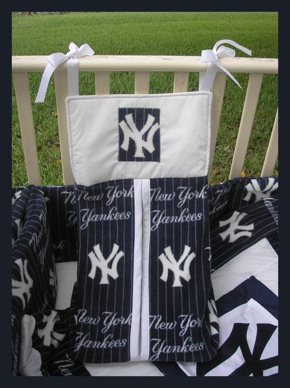 Upscale New York Yankees Baby Crib Bedding Set Custom Made To