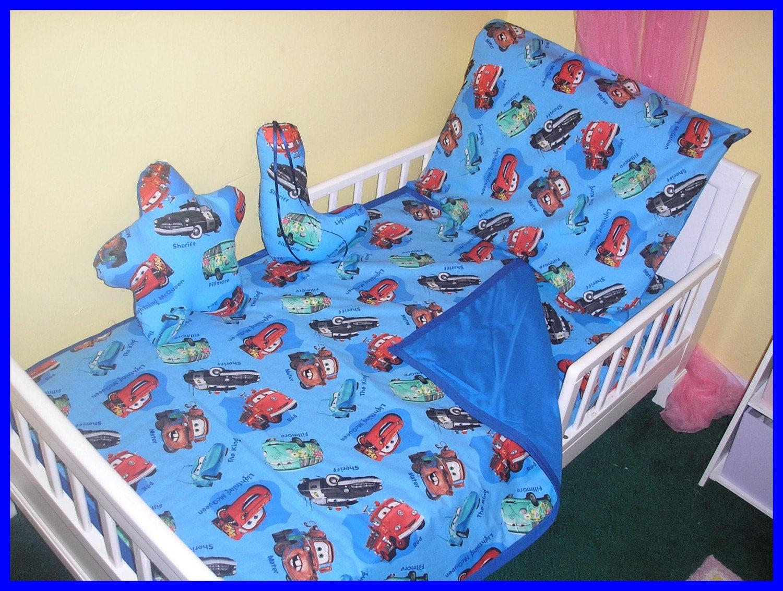 disney cars crib toddler new bedding set in blue red or beige