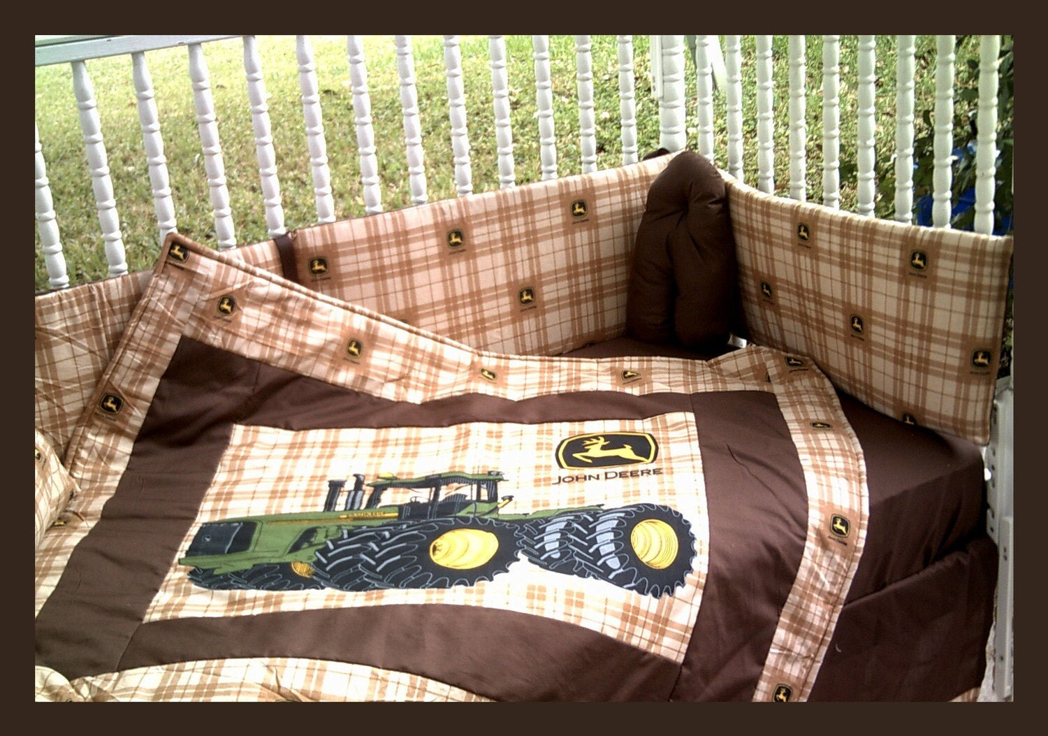 New John Deere Crib Bedding Set With Large By
