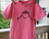 Pink Pigtails Toddler Tee