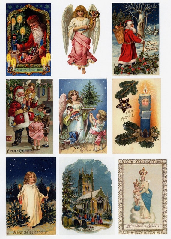 Vintage CHRISTMAS Images on CD