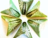 bouquet of greens napkins