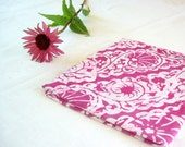 magenta scallops scarf