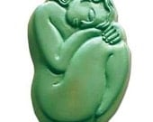 Sleeping Goddess in Stress Relief - Art for Your Soap Dish