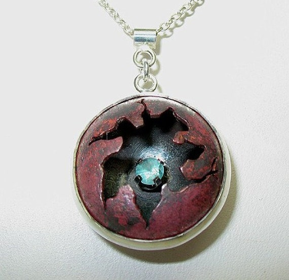 Industrial Cracked Pendant FREE S/H
