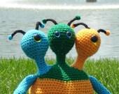 XQDH3 Alien Crochet Pattern