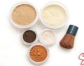 X-Large Mineral makeup Full size kit foundation eye shadow set-Fairly light-Light-Medium-Tan-Dark-Deep-blush-bronzer-Veil-Concealer