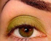 Tainted Eyeshadow Mineral makeup (Golden silvery green) Love on the Rocks collection