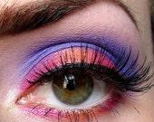 Get this look 4 pc set (Dahlia, Going Bananas, OrangeUGlad, Shacked Up) Eyeshadow Mineral makeup Eye shadow Eyeliner (5g)