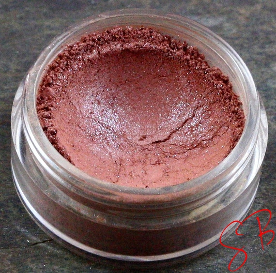 Sunset Blush Bronzer (Medium earthy with pink satin shimmer finish) Sobe Blushin Mineral makeup Blushed
