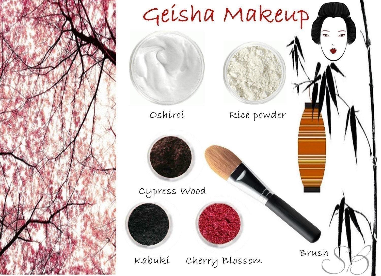 geisha rice mineral powder