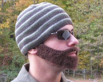 Pattern to Crochet Your Own Beard