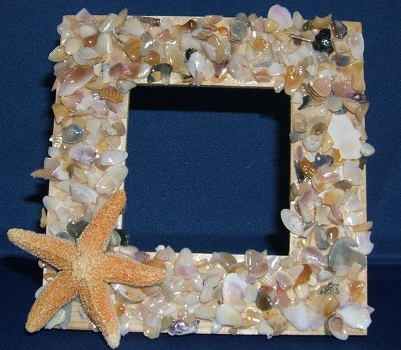 Items Similar To Seashell Frame Shell Craft Kit Make