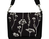 Digital SLR Camera Bag Dslr Camera Bag Purse Womens Camera Bag Case  - Organic Simplicity Black White - In Stock