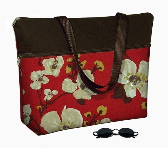 Laptop Tote Bag padded case fits up to 17 inch PC  - READY TO SHIP