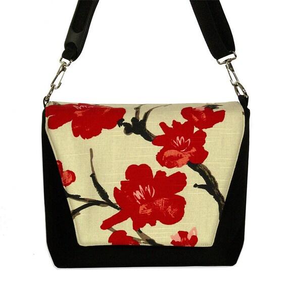 Digital SLR Camera Bag Dslr Camera Lens Bag  - Asian Cherry Blossom - InStock