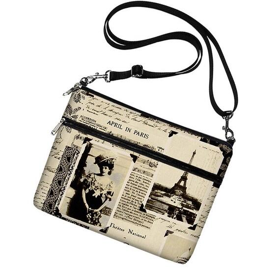 LAST ONE - Paris iPad Air Case Padded iPad Cover iPad Shoulder Bag Purse Crossbody Bag iPad 4 3 2 1  Eiffel Tower (RTS)