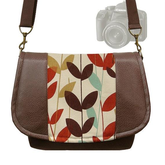 Womens Digital SLR Camera Bag DSLR Camera Bag Purse Vegan