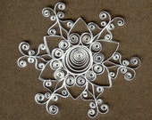 quilled snowflake 3