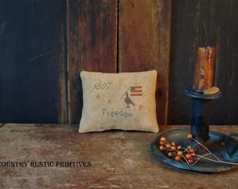Primitive Freedom 1807 Pinkeep Cross Stitch E Pattern PDF