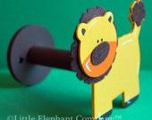 Felted Lion Curtain Holdback (single piece)