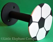 Soccer Curtain Holdback - Single Piece
