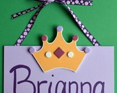 Princess Name Sign - FREE Personalization