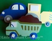 Let's Go Transportation Quilt Clips - Set/3