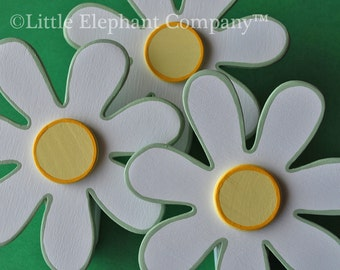 Sweet Daisy Quilt Clips - set of 3