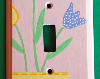 Tulips Lightswitch Cover