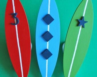 Surfboard Quilt Clips - Set/3
