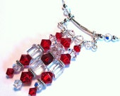 Crystal Ladder Necklace - Reserved for A Sugar Affair