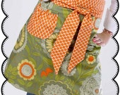 Hostess Apron Sewing Pattern with Instructions eBook - Immediate Download