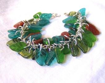 Green Leafy Bracelet