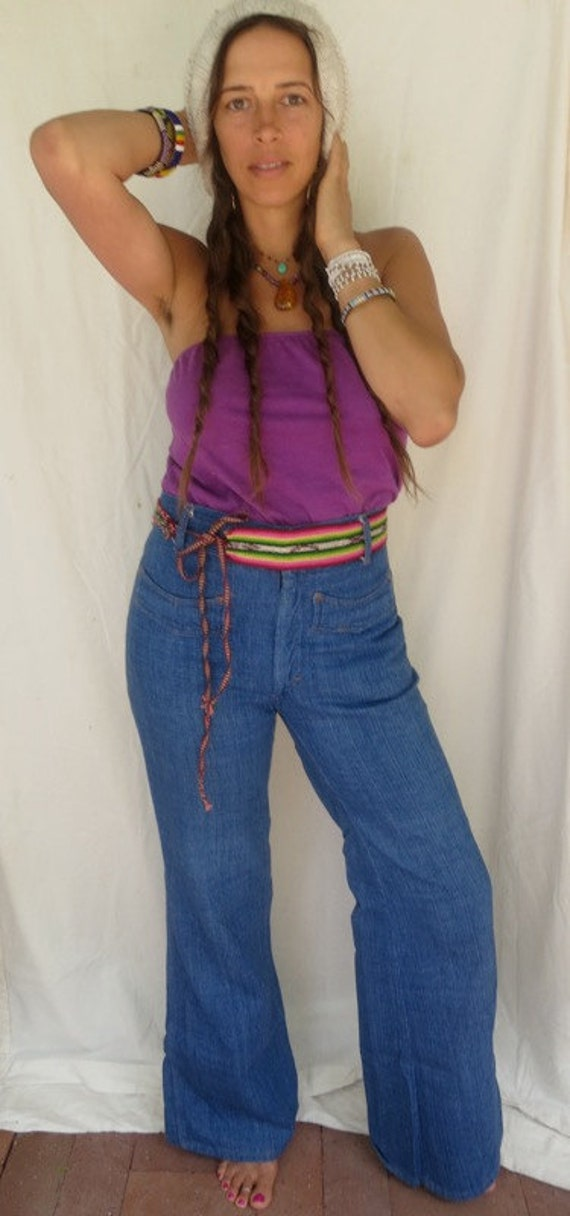 1970s high waisted jeans super soft