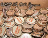 Vintage Delaware Punch bottle caps tops with corks great for jewelry making