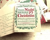 1976 Scholastic Christmas booklet The Night Before Christmas illustrated by Bill Hogarth for mixed media, scrapbooking, etc.